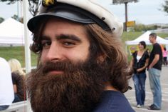 a beard you can really get your teeth into. I Love Beards, Hot Beards, Awesome Beards, Hipster Beard, Hipster Man, Sexy Beard, Epic Beard, Handsome Bearded Men, Beard Quotes