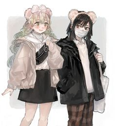 Demon Slayer, Slayer Anime, Anime Demon, Anime Manga, Anime Sisters, Anime Best Friends, Cute Anime Character, Anime Ships, Anime Outfits