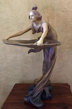 Goldscheider Sculpture Terre Cuite Goldscheider, Monuments, Art Nouveau Furniture, Art Nouveau Design, Soul Art, Arts And Crafts Movement, Artist Art, Art Deco Fashion, Pottery Art