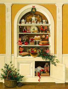 Charlotte Joan Sternberg —  White Cupboard   (534x700)