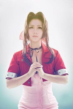 Aerith Gainsborough Cosplay (From Final Fantasy 7)