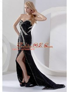 High Slit Beading Decorate Bodice Sweetheart Neckline Brush Train 2013 Prom Dress- $245.32  www.fashionos.com  popular sexy prom dress in ny   prom dresses 2013   how to find my dama dress   where to get perfect cocktail dresses   latest cocktail dresses   pretty homecoming dress   prom dresses shop in london   cinderella night club dresses   one of a kind mother of the bride dresses   beauty and beast celebrity dresses  