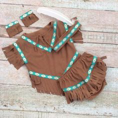 Indian Inspired Baby Outfit