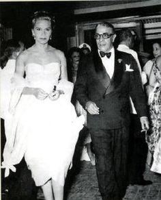 Tina and Ari Onassis