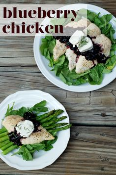 Meal Maker Challenge Week 3: Blueberry Chicken