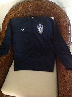nike pachuca F.C  mexico liga MX soccer/futbol blue jacket NWT size S mens