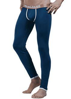 Men's Long Underwear, Men's Thermal Pants,Model Base Layer Soft than Cotton Sexy Underwear Long Johns Thermal Pants, Long Underwear, Look Good Feel Good, Long Johns, Male Feet, Keep Warm, A Good Man, Sexy Men, Tights