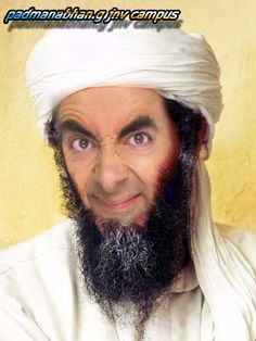 mr. Bean bin laden http://images5.fanpop.com/image/photos/29500000/mr-bean-mr-bean-29507950-450-600.jpg
