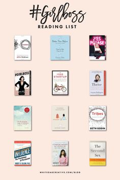 Girlboss Reading List for Creative Entrepreneurs