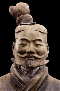 Terracotta Army from the tomb of the emperor Qin Shi Huang.