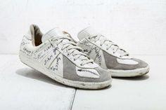 These Original Margiela German Army Trainers Are a Piece of Fashion History on http://SneakersCartel.com | #sneakers #shoes #kicks #jordan #lebron #nba #nike #adidas #reebok #airjordan #sneakerhead #fashion #sneakerscartel