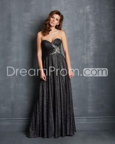 2014 Floor-length Sweetheart Sleeveless A-Line Sequins Prom Dresses