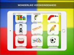 Afrikaans flitskaarte on the App Store Flashcard App, Friends Font, Ios 11, Afrikaans, Software Development, App Store, My Children, Ipod Touch, Mobile App