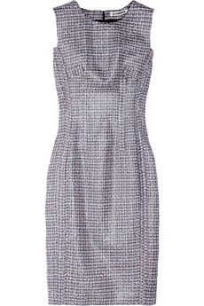 Jil Sander Loadstar   inverted-seam tweed dress   This Dress will never go out of style! It's another one of the timeless pieces that we are seeing more designers incorporate into their r2w lines. It's fun to think of all the ways this Jil Sander tweed dress can be styled.   $2830 net-a-porter