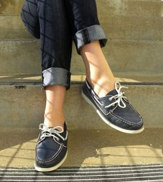 super popular e6c15 bafc1 So want these Sperry Sneakers, Sperry Boat Shoes, Preppy Style, Rolled Up  Jeans