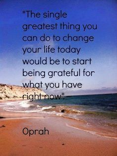 The Single Greatest Thing - Oprah