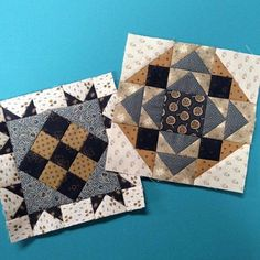 Great pieced blocks! Small Quilts, Mini Quilts, Patch Quilt, Quilt Blocks, Quilt Kits, Quilting Projects, Quilting Designs, Barn Quilt Patterns, Civil War Quilts