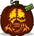 Nemesis pumpkin pattern - Resident Evil