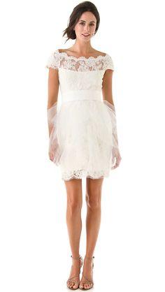 White Lace Dress | Brainy Mademoiselle
