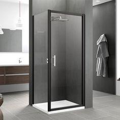 Box Doccia Porta 1 Anta Battente Zephyros G 70 Ikea Bathroom, White Bathroom, Bathroom Ideas, Big Bathrooms, Shower Screen, Shower Enclosure, Cuisines Design, Shower Doors, At Home Store