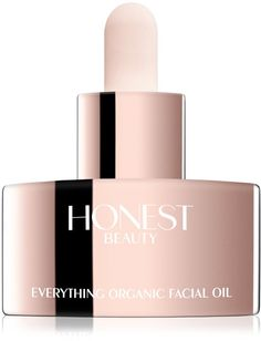 Honest Beauty's USDA certified organic facial oil is nothing but farm-to-face goodness. Everything Organic Facial Oil replenishes moisture-depleted skin by amplifying its natural defenses for a supple, smooth, and youthful look.