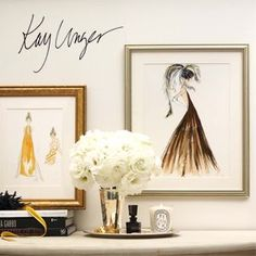 Kay Unger sketches
