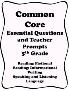 Common Core Grade 5: Theme, Plot, & Summarizing RL.2