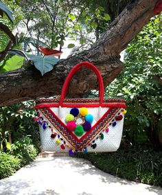 Boho Chic, Hippie Chic, Mexican Shoes, Hippie Bags, Moda Boho, Best Bags, Straw Bag, Purses And Bags, Projects To Try