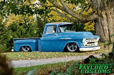 If this truck could talk prior to becoming part of the Taylor'd Customs fleet it would have told  the same stories any other 54 year old truck would.  Tales of journeys to and from work or …