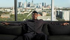 The untold story and private world of the greatest player in Texans history  Andre Johnson walks toward an oversized floor-to-ceiling window, stretches himself taller and takes in the quiet perfection of the view.  ¶  Downtown Houston glowing at midday, with blue, red and silver buildings blending into towering skyscrapers and swinging cranes.  ¶  For a few seconds, the greatest player in Texans history pauses his life inside a high-end Museum District hotel.  ¶  Houston helped create…