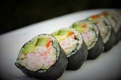 "California Cauliflower ""Rice"" Sushi Roll | Being Bethany Jane"