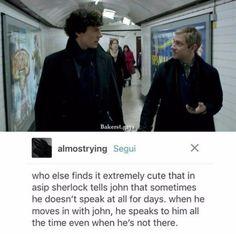 I just made a sound like a crying dinosaur - Sherlock . - I just made a sound like a crying dinosaur – Sherlock – - Sherlock Bbc, Sherlock Fandom, Jim Moriarty, Sherlock Quotes, Sherlock Humor, Watson Sherlock, John Watson, Johnlock, Destiel
