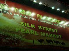 The Entrance to the Silk Street Pearl Market - Beijing, China:Silk Street Market, 8 Xiushui Dongjie; +86 (10) 5169 9003