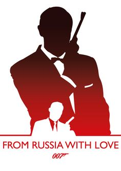 From Russia With Love, James Bond by Phil Beverley, via Behance
