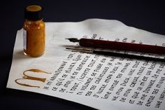 Calligraphy photography.