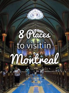 8 Places to Visit in Montreal · Kenton de Jong Travel - 8 Places to Visit in Montreal http://kentondejong.com/blog/8-places-to-visit-in-montreal