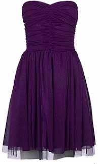 Really like this style of dress for a bridesmaid except maybe just like a dark pink color.