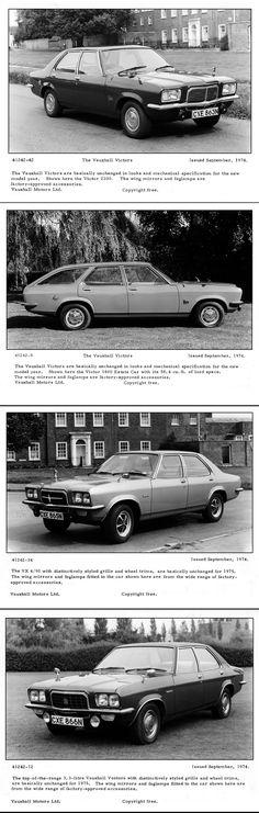 1974 Vauxhall Victor, VX4/90 and Ventora