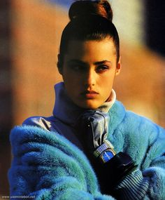 Along with Gilles Bensimon, French photographer Marc Hispard probably shot more photos with Yasmin in the first 10 years of her career than any other photographer.