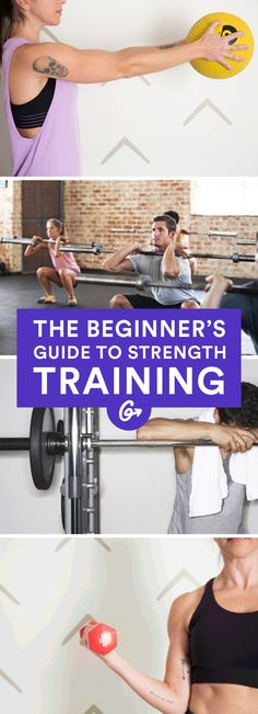 Never feel clueless at the weight rack again. #strength #training http://greatist.com/move/strength-training-a-beginners-guide