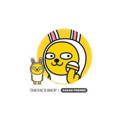 The Face Shop CC Intense Cover Cushion Kakaotalk Muzi Limited Ed. + Refill