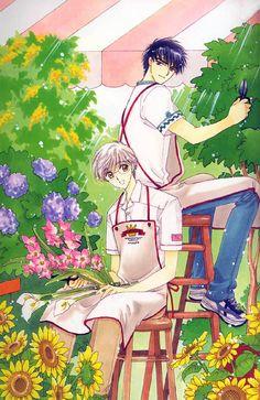 CardCaptor Sakura ~~ Pruning day for Yukito & Touya