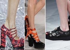Fall/ Winter 2016-2017 Shoe Trends: Chunky Gothic Shoes