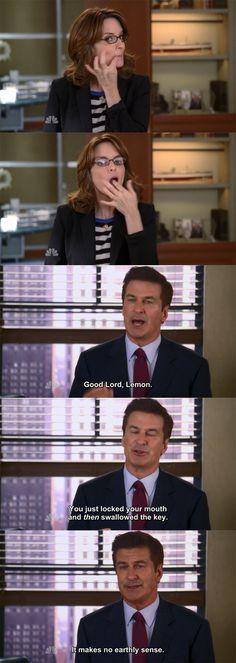 "30 Rock Season 7 Episode 4: Unwindulax. ""It makes no earthly sense."""