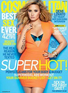 demi lovato magazines | Demi Lovato, Cosmopolitan Magazine