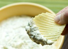"Another pinner says....""The best, the best, the best, the best, the best chip dip recipe EVER."""