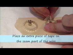 How to give a corrugated pattern to your resin jewelry bezels.