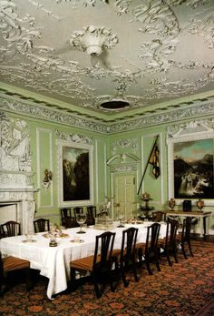 The Dining Room - Blair Castle - Perthshire - Scotland