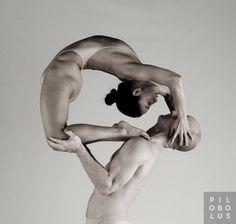 Ever feel like you need a really good back stretch? Pilobolus Dance Theater