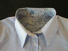 Chemise SAPHIR,  Grains de Couture Hommes & Femmes, Ivanne SOUFFLET, by Jmbymarie